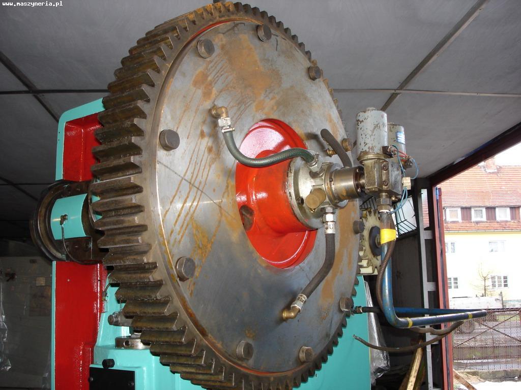 Eccentric press LEN P 63 - flywheel and clutch
