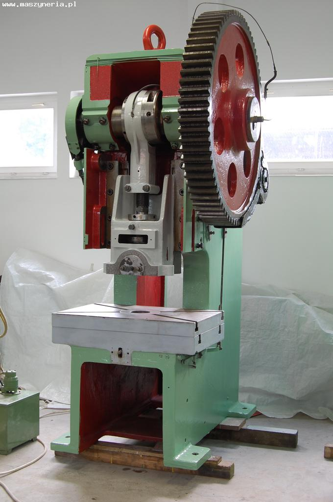 Eccentric press LEPP 100 - flywheel on side