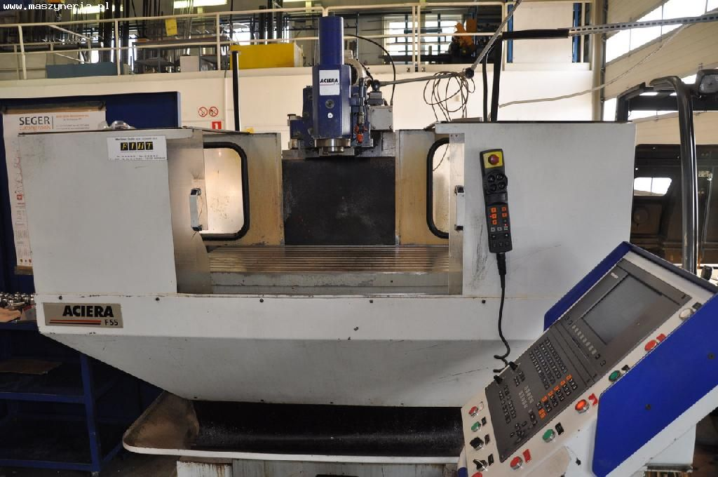 CNC milling machine ACIERA F55 5000 with Heidenhain TNC 426  CB