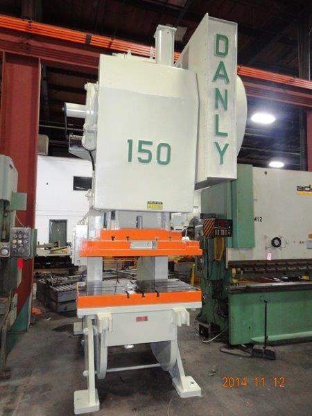 C-Frame eccentric press Danly-150