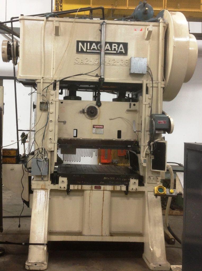 H-frame eccentric press Niagara SA 2-150-42-36
