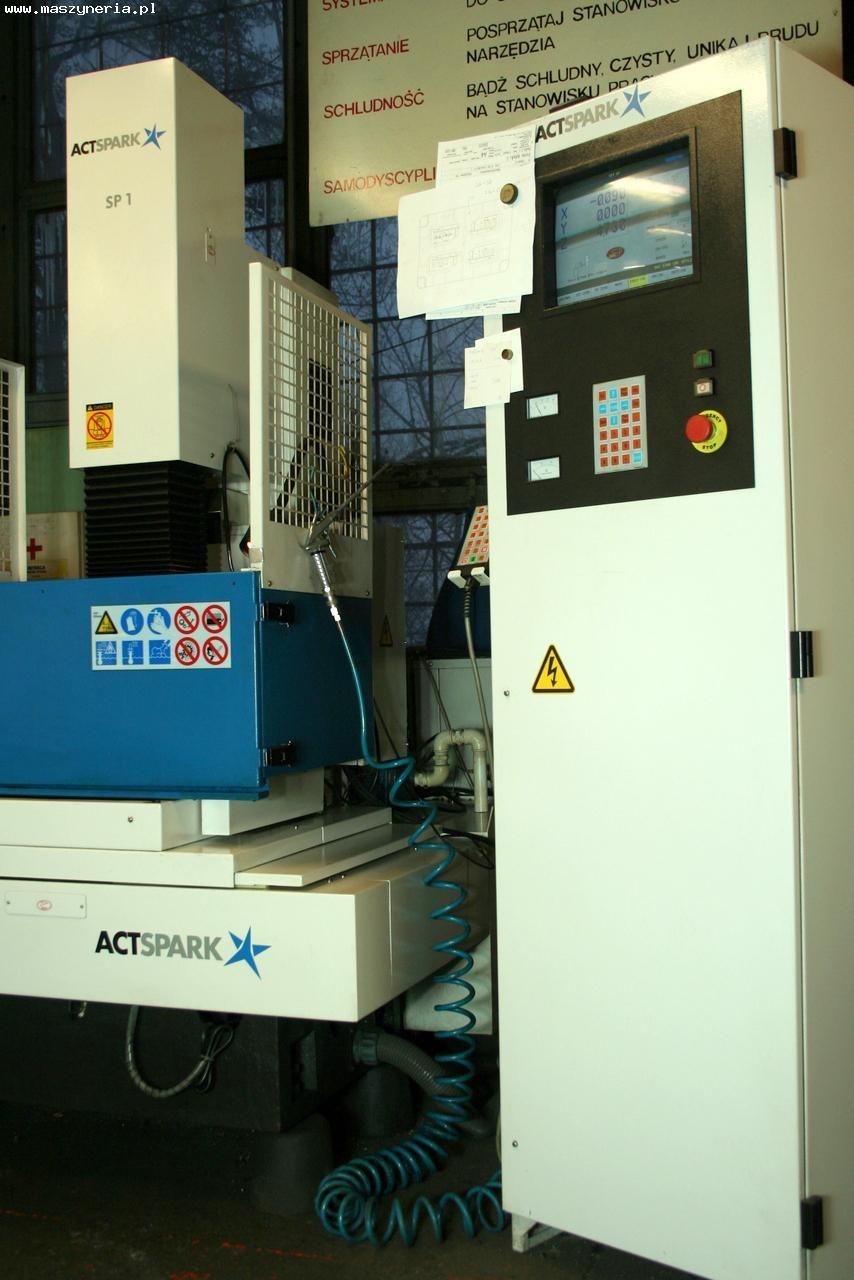 Sinker Electrical Discharge Machine AGIE CHARMILLES ACTSPARK SP 1